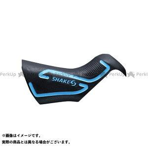 【無料雑誌付き】シェイクス(自転車) 走りを支えるグリップカバー (HOOD Di2) ソフト 左右ペア レバー用(ブルー ) SHAKES