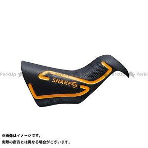 【無料雑誌付き】シェイクス(自転車) 走りを支えるグリップカバー (HOOD Di2) ハード 左右ペア レバー用(ショッキングオレンジ ) SHAKES