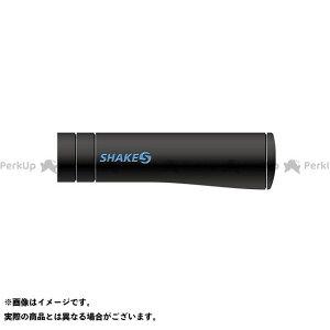 【無料雑誌付き】シェイクス(自転車) 走りを支えるグリップカバー (PISTOLA) ソフト ブルホーン&DHバー用 トライアスロン等(ブラック/ブルー ) SHAKES