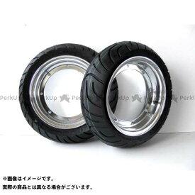田中商会 シャリィ50 ダックス 10インチアルミホイール・タイヤセット 未組込 3本ハブ用 ホイール:3.5J 110/70-10