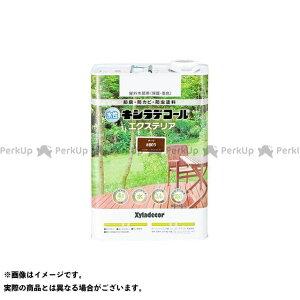 【無料雑誌付き】カンペハピオ 水性キシラデコール エクスS チーク 3.4L Kanpe Hapio