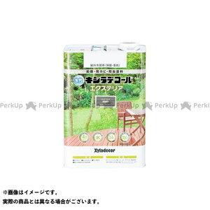 【雑誌付き】カンペハピオ 水性キシラデコール エクスS シルバーグレイ 3.4L Kanpe Hapio