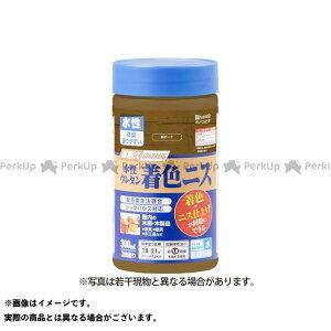 【無料雑誌付き】カンペハピオ 水性ウレタン着色ニス 新オーク 300ML Kanpe Hapio