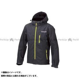 コミネ JK-555 WPプロテクション3L-パーカ レディース ブラック/ネオン 4XL KOMINE