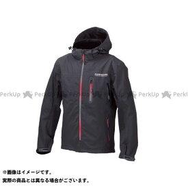コミネ JK-555 WPプロテクション3L-パーカ レディース ブラック/グラデーションレッド 3XL KOMINE