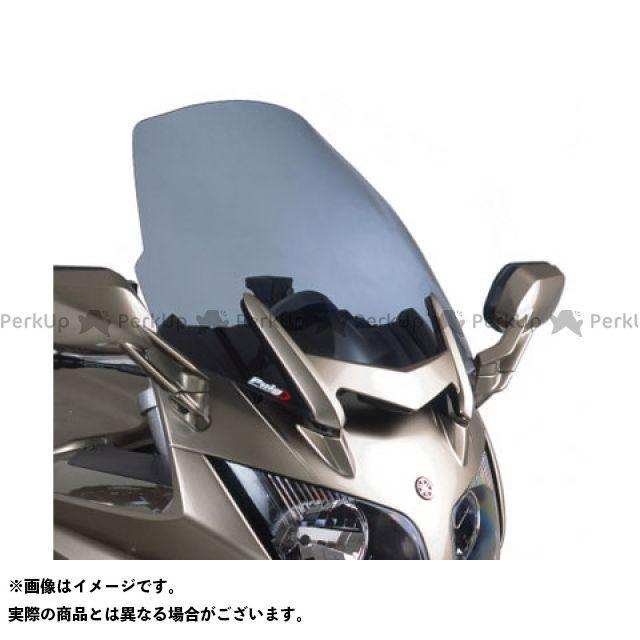 送料無料 プーチ FJR1300AS/A スクリーン関連パーツ ツーリングスクリーン ブラック