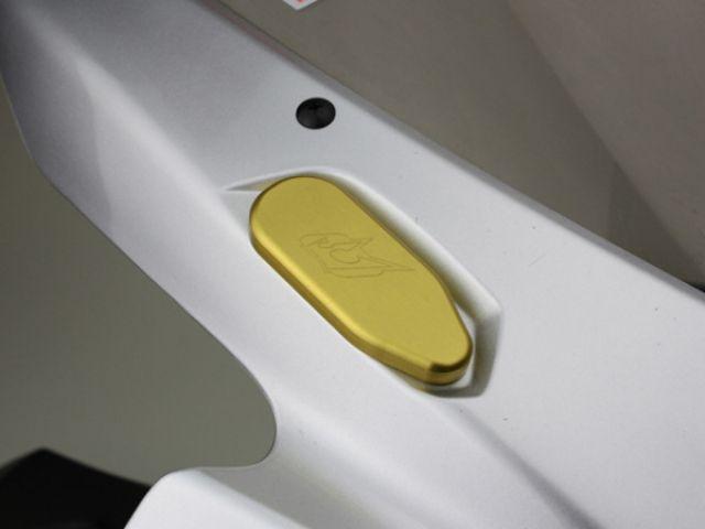 送料無料 ドリブン ニンジャZX-14 ミラー関連パーツ ミラーエリミネーター Kawasaki ZX-14 2006-2012用 ゴールド