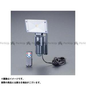 【雑誌付き】エスコ AC100V/18W LEDセンサーライト(サイレン付) ESCO