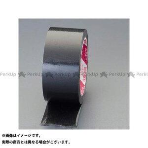 【ポイント最大19倍】エスコ 50mmx25m 養生テープ(つや有/黒/日焼防止) ESCO