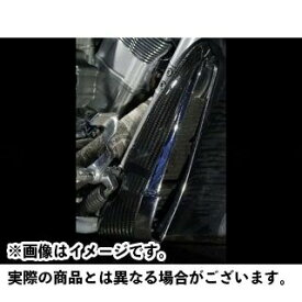イルムバーガー その他のV-Rod Harley Davidson V-Rod用 ラジエターカバー 仕様:右側 ILMBERGER