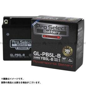 【エントリーで最大P19倍】プロセレクトバッテリー 汎用 プロセレクトバッテリー GL-PB5L-B(YB5L-B 互換)(液入) Pro Select Battery