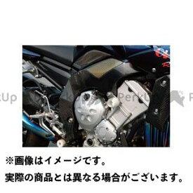【特価品】マジカルレーシング FZ1フェザー(FZ-1S) ラジエターシュラウド 左右セット 材質:綾織りカーボン製 Magical Racing