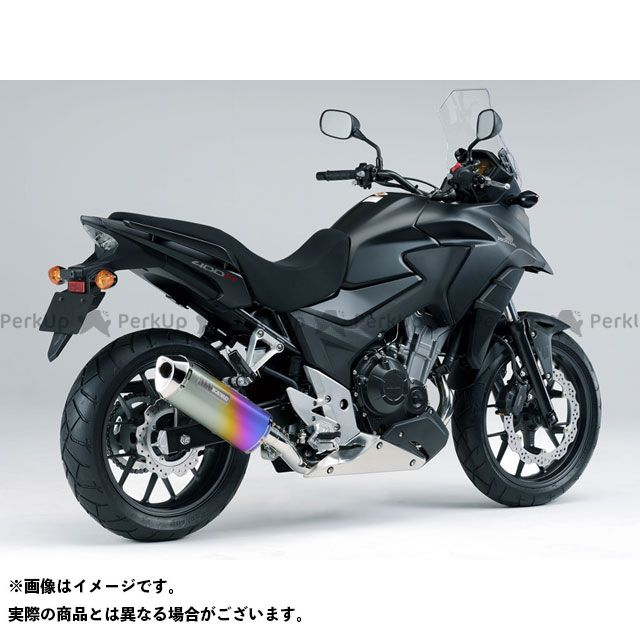 送料無料 モリワキ 400X マフラー本体 MX マフラー ANO(アノダイズドチタン)