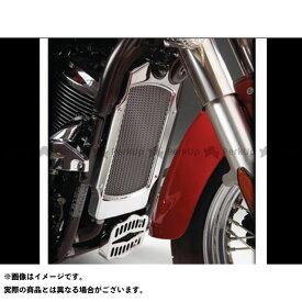 ケンテック バルカン900カスタム Vulcan 900 メッキラジエーターカバー KENTEC