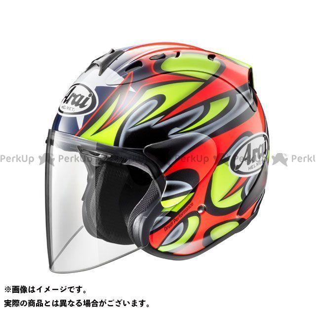 送料無料 アライ ヘルメット Arai ジェットヘルメット SZ-Ram4 EDWARDS TRIBUTE(エドワーズ・トリビュート) 55-56cm