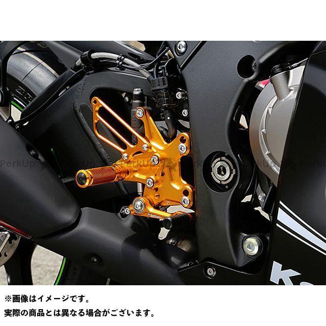 送料無料 ベビーフェイス ニンジャZX-10R バックステップ関連パーツ バックステップキット ブラック