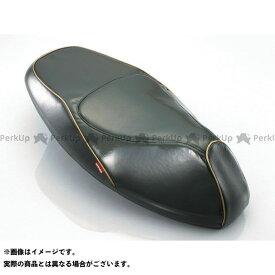 キタコ シグナスX プリズムシートカバー カラー:ブラック/ゴールドパイピング KITACO