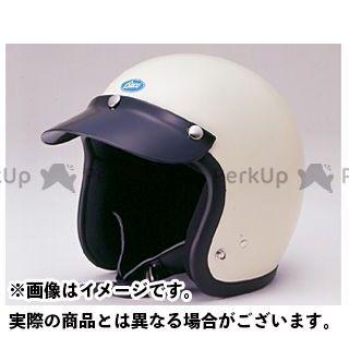 送料無料 BUCO ブコ ジェットヘルメット ベビー ブコ レイト 60's スタイル プレーンモデル アイボリーホワイト M/L(58-60cm)