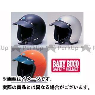 送料無料 BUCO ブコ ジェットヘルメット ベビー ブコ レイト 60's スタイル プレーンモデル ブラック S/M(56-58cm)