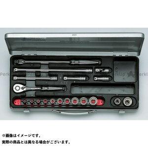 【ポイント最大18倍】ケイティーシー TB312X(9.5SQ) ソケットレンチセット(ミリ) KTC