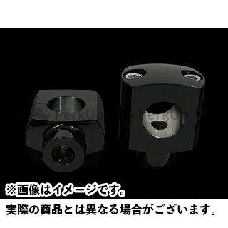 送料無料 ネオファクトリー ハーレー汎用 ハンドルポスト関連パーツ 1-1/2in ショーティーライザー ブラック