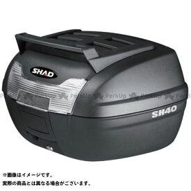 【無料雑誌付き】シャッド 汎用 SH40 CARGO トップケース 無塗装ブラック SHAD