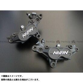 【無料雑誌付き】アドバンテージ 汎用 ADVANTAGE NISSIN 4POTリヤーキャリパー83mmピッチ TZ Type(ブラック・LH) レース専用 ADVANTAGE