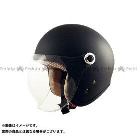 メーカー在庫あり スピードピット SPEEDPIT GS-6 シールド付きジェットヘルメット Gino マッドブラック