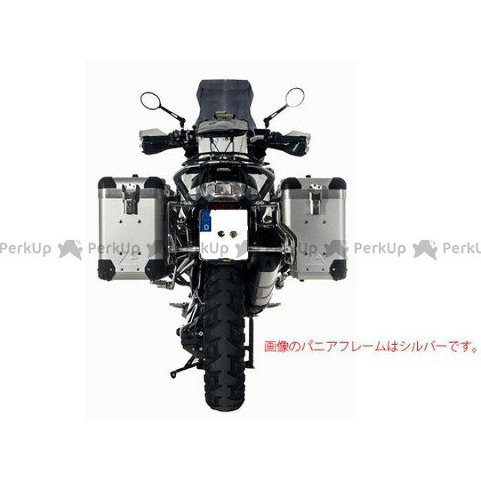 ZEGAPro2スペシャルアルミパニアシステム【アルマイトシルバー】38L+38LBMWR1200GS(13-)/R1200GSAdventure(14-)(ブラックフレーム)