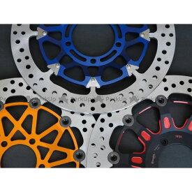 コーケン スピードトリプル ブレンボ カラーフローティングディスクキット φ320 TRIUMPH チタンブルー