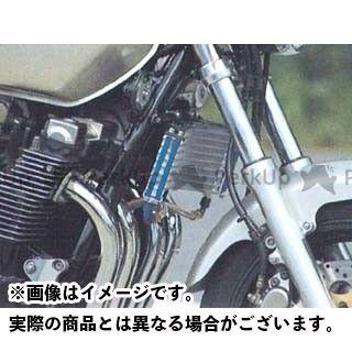 送料無料 プロト XJR1200 XJR1300 オイルクーラー ラウンドオイルクーラーキット(下出し) 9段#6 シルバー