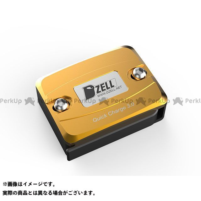 ディーゼル DZELL その他電装パーツ Dzell USB Oneポート ゴールド