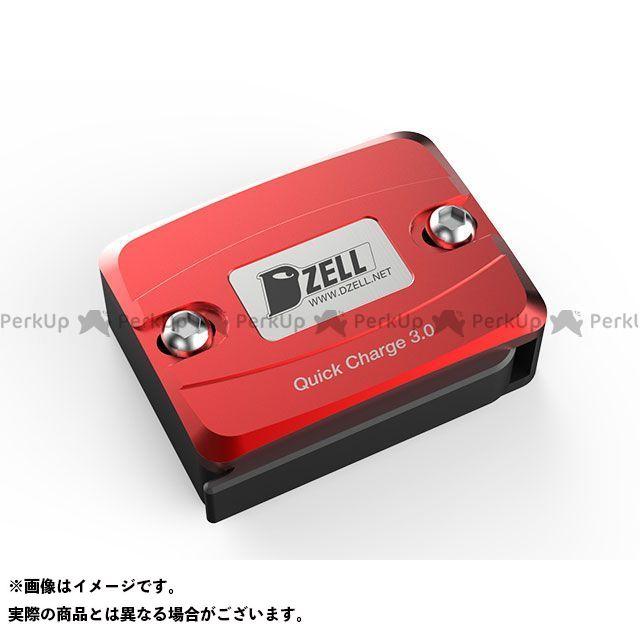 ディーゼル DZELL その他電装パーツ Dzell USB Oneポート レッド
