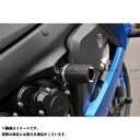 AGRAS レーシングスライダー フレームφ50 カラー:ジュラコン/ブラック タイプ:ロゴ有 GSX-S1000/F
