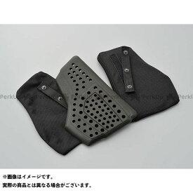 ヘンリービギンズ SAS-TEC 胸部プロテクター CP-2(セパレートタイプ/スナップボタンBAG付き) ブラック HenlyBegins