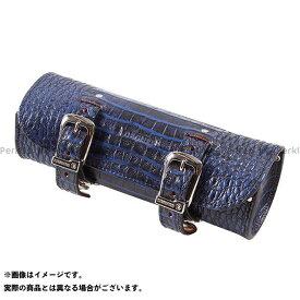 デグナー TB-4CR クロコダイル柄レザーツールバッグ カラー:ブルー DEGNER