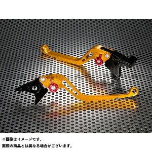 【エントリーで最大P19倍】ユーカナヤ CBR954RRファイヤーブレード スタンダードタイプ ロングアルミビレットレバーセット レバー:ゴールド アジャスター:オレンジ U-KANAYA