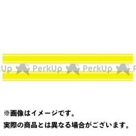 MDF 汎用 ライングラフィック ストライプタイプ6 カラー:イエロー/ホワイト タイプ:スモール エムディーエフ