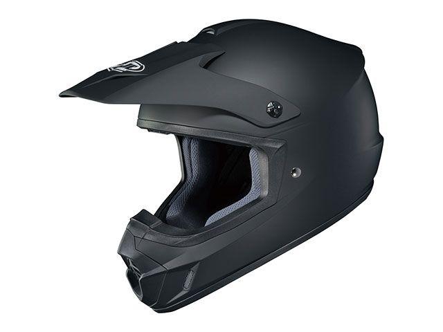 送料無料 HJC エイチジェイシー オフロードヘルメット HJH102 CS-MX2 ソリッド(ラバートーンブラック) M/57-58cm