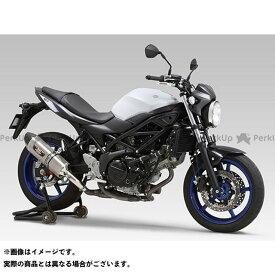 【無料雑誌付き】ヨシムラ SV650 Slip-On R-77J サイクロン EXPORT SPEC 政府認証 サイレンサー:SMS(メタルマジックカバー/ステンレスエンドタイプ) YOSHIMURA