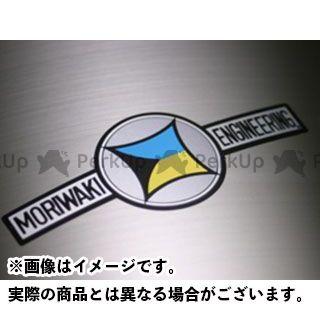 モリワキ MORIWAKI ステッカー・ワッペン 耐熱トレードマークステッカー