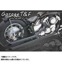 ガレージT&F ドラッグスター400 ドラッグスタークラシック400 マフラー本体 ロングドラッグパイプマフラー タイプ1 ブラック 2008年まで(キャブ仕様...