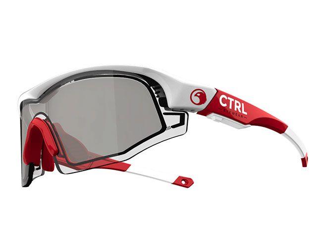 e-Tint イーティント サングラス CTRL ONE 電子式調光スマートサングラス 『コントロールワン』 レッド/ホワイト