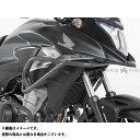 【送料無料】HEPCO&BECKER タンクガード(ダークグレイ) 400X CB500S