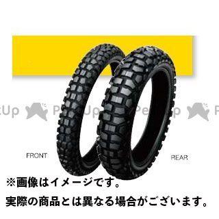 送料無料 ダンロップ 汎用 オフロードタイヤ Buroro D605 4.60-18 63P WT リア