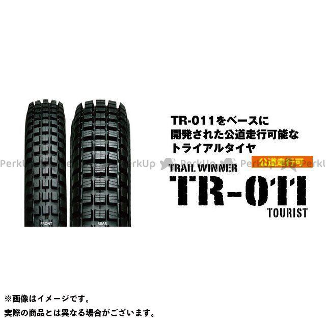 送料無料 IRC 汎用 オフロードタイヤ TRIAL WINNER TR-011 TOURIST 4.00-18 64P TL リア