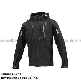 コミネ JK-112 プロテクトハーフメッシュパーカ-ゲンリ ブラック 2XL KOMINE