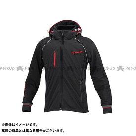 コミネ JK-113 スムースメッシュジャージパーカ-ザネ ブラック XL KOMINE
