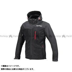 コミネ KOMINE JK-114 プロテクトメッシュパーカ-テン ブラック L