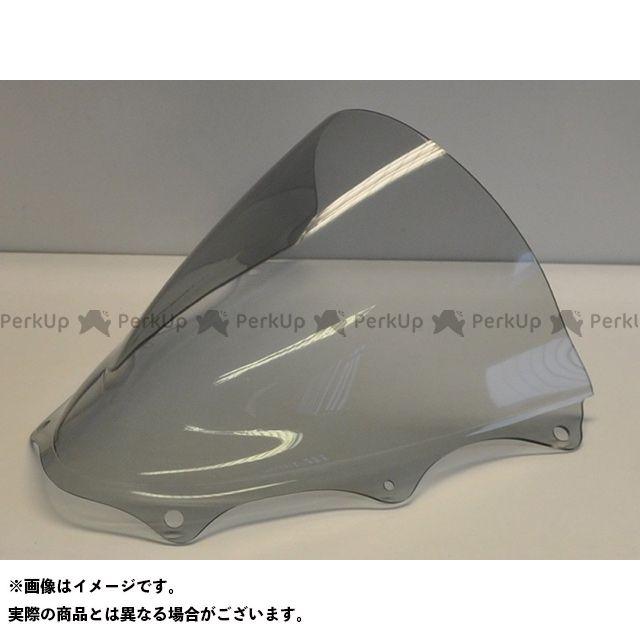 スキッドマークス GSX-R600 GSX-R750 スクリーン関連パーツ ウィンドスクリーン ダブルバブルタイプ イエロー